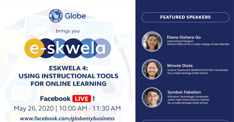 Globe E-skwela to tackle online learning tools in new normal