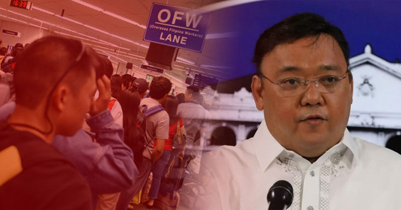 OFW except health workers may go abroad.