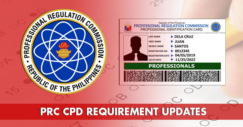 PRC CPD requirements update