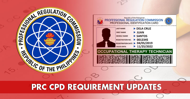PRC: Renew license without CPD until December 2020