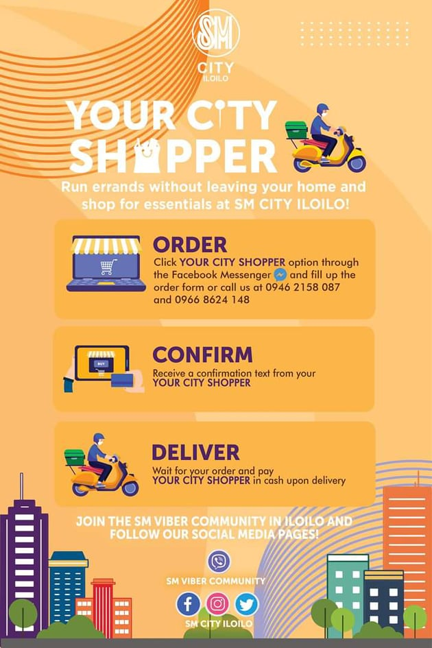 SM City Iloilo's Your City Shopper service.