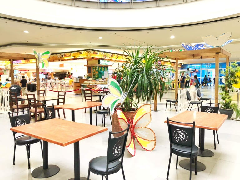 Choose your food and have a seat at SM City Iloilo's designated dining area.