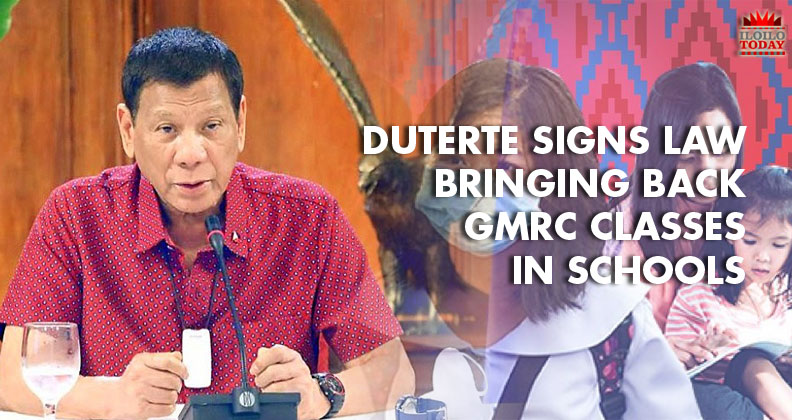 Duterte signs GMRC law