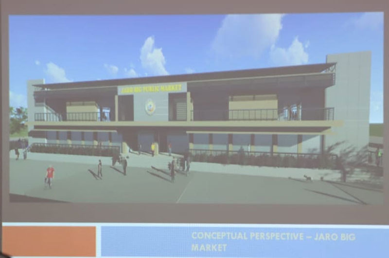 Iloilo City Government will be constructing New Jaro Big Market Building.