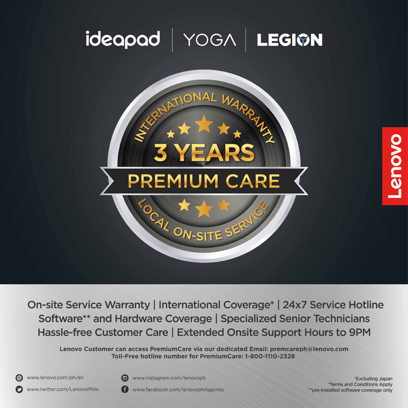 Lenovo Premium Care Warranty