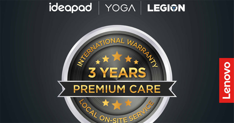 Lenovo 3 year warranty