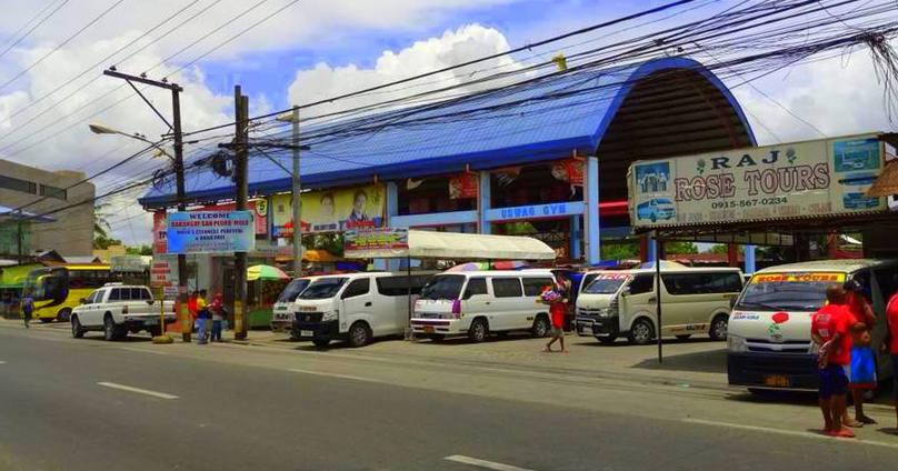 Molo Terminal for PUVs, vans, buses.