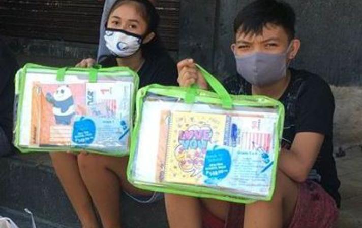 SM Stationery donates school supplies to children