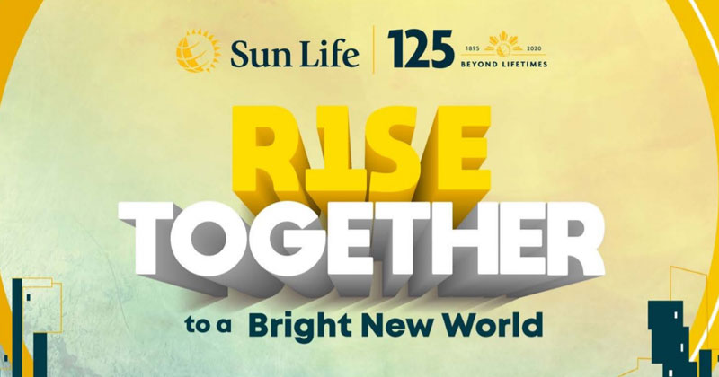 Sun Life Rise Together campaign