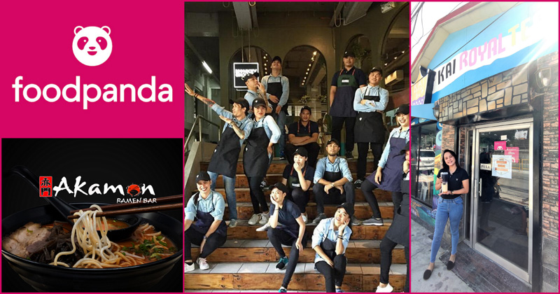 foodpanda partners with local restaurants in the City of Love