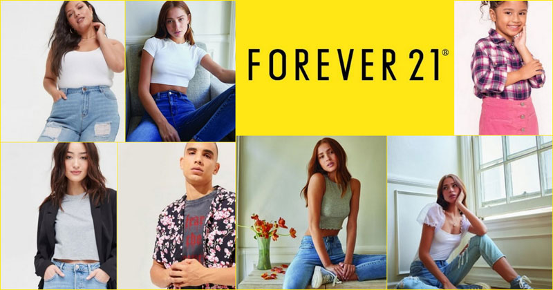 Forever 21 now on Shopee, 50% off on some styles from July 13-17