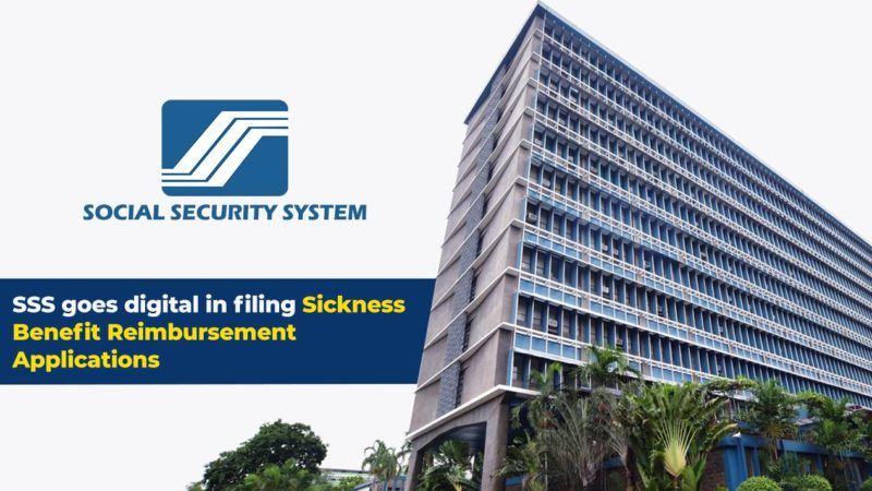 SSS accepts online filing of sickness benefit claims