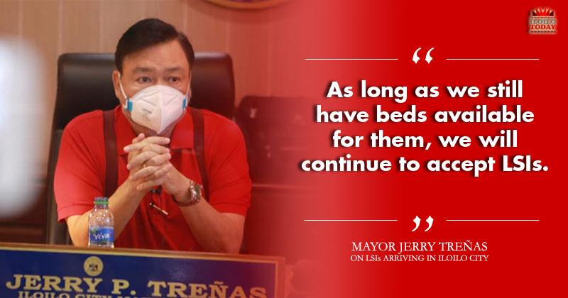 Iloilo City to accept LSIs