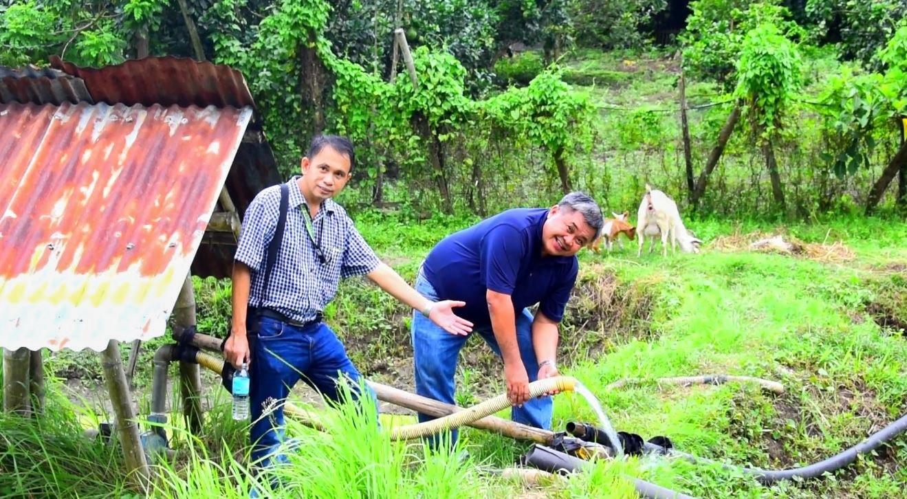Peter Sindol Sobrevega's farm at Cabilauan, New Lucena