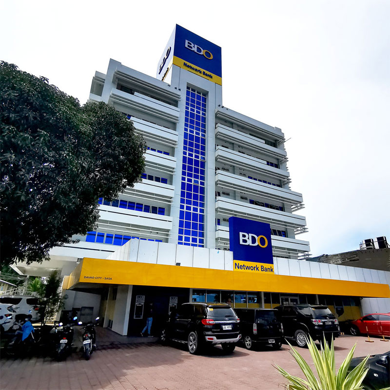 BDO Network Bank in Sasa, Davao City.