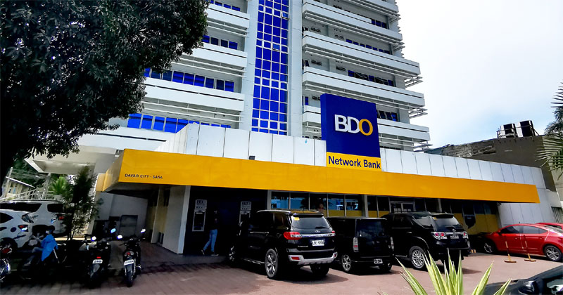 BDO Network Bank in Sasa, Davao.