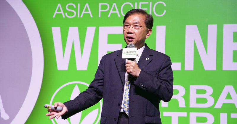 Dr. Chin Kun-Wang, member, Nutrition Advisory Board, Herbalife Nutrition