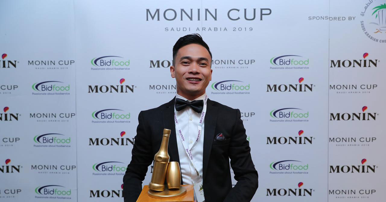 Macario dela Cruz Jr. wins the Monin Cup in Saudi Arabia.