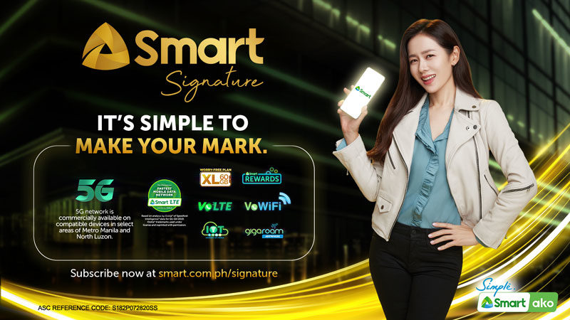 Son Ye Jin is the new face of Smart Signature!