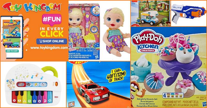 Toy Kingdom online shopping.