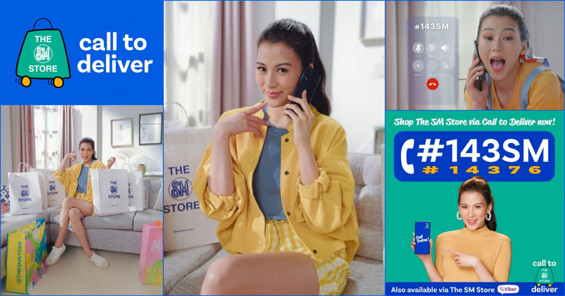 Alex Gonzaga as new endorser of The SM Store's Call To Deliver