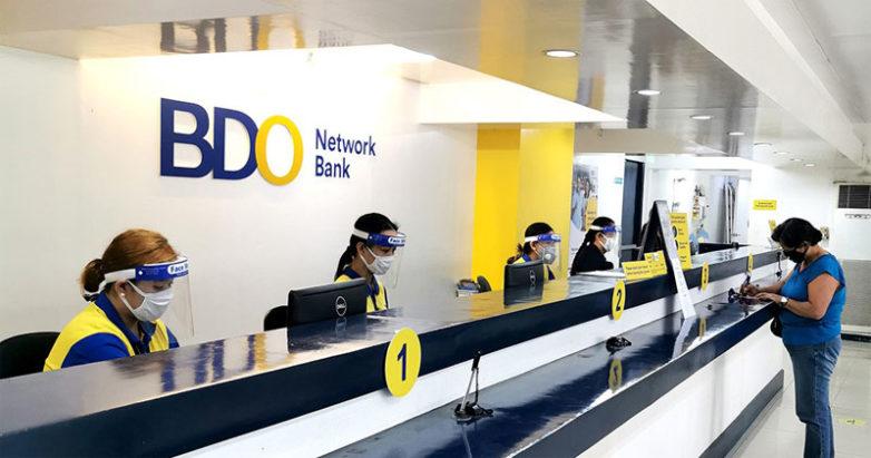 BDO Network Bank counter