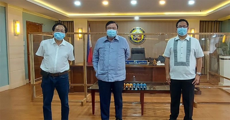DA Asec Hansel Didulo visited Mayor Jerry P. Trenas at Iloilo City Hall