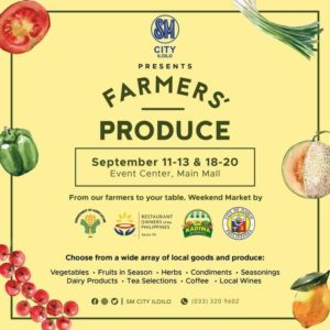 SM City Iloilo farmers' produce