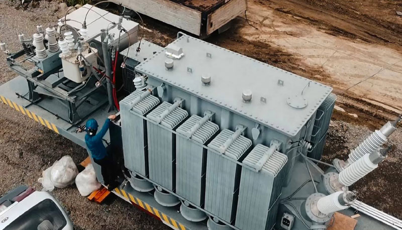 MORE Power mobile substation no. 1