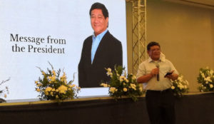 MORE Power President and CEO Roel Z. Castro congratulated the 51 employees and urged them to do their best for Iloilo City consumers.