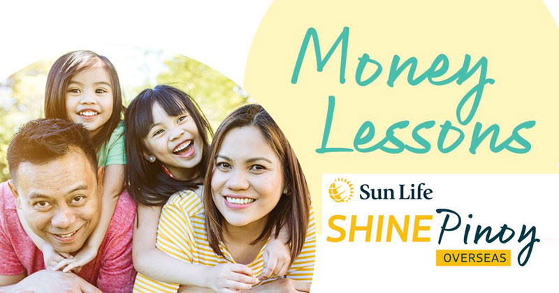 Sun Life Shine Pinoy Program for OFWs.