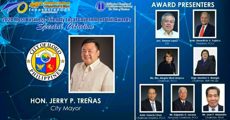 Iloilo Business Friendly City awards