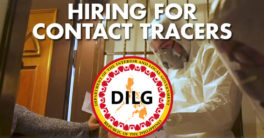 DILG hiring contact tracers for Iloilo City.