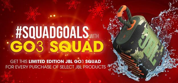 JBL Squad Goals promo