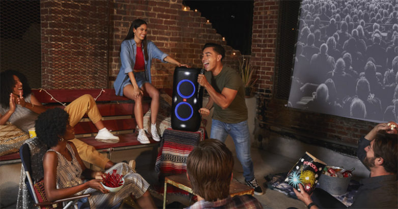 JBL launches speakers and headphones.