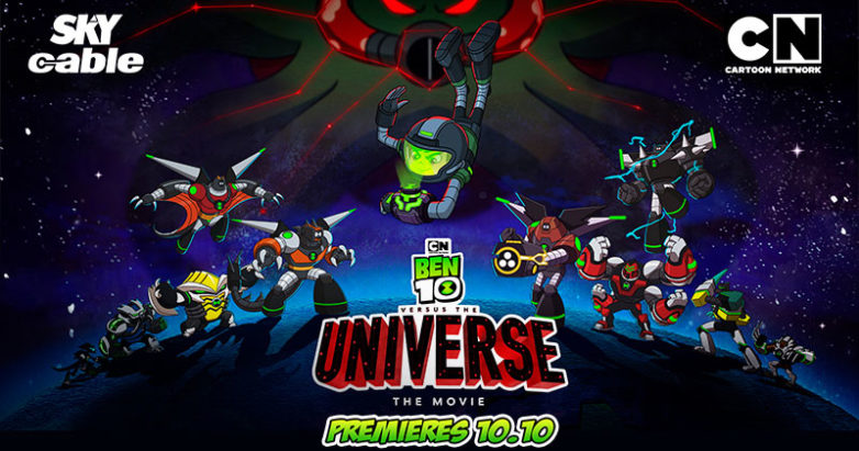 Sky Cable present Ben 10 movie at Cartoon Network