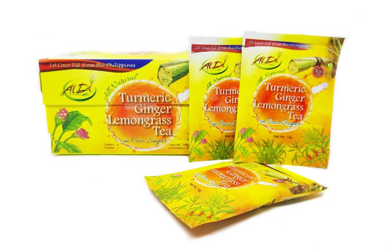 Aldi Foods turmeric teas now available online.