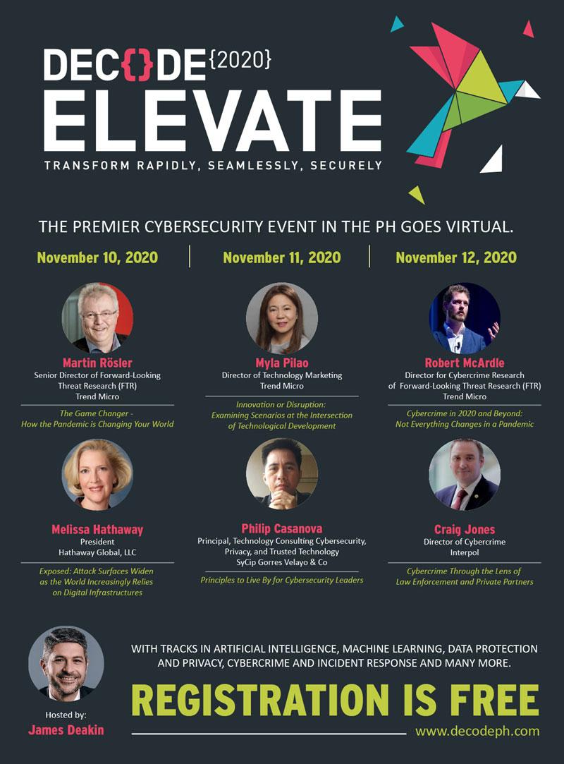 Decode 2020 cybersecurity event