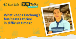 Enchong Dee as Sun Life Ambassador