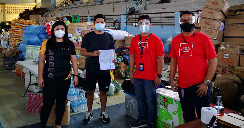 Globe supports typhoon victims