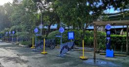 SM City Iloilo Bike Parking