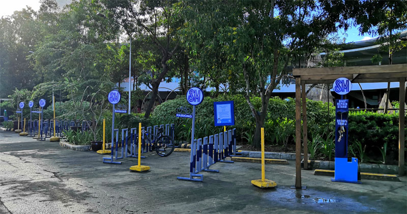 SM City Iloilo Bike Parking