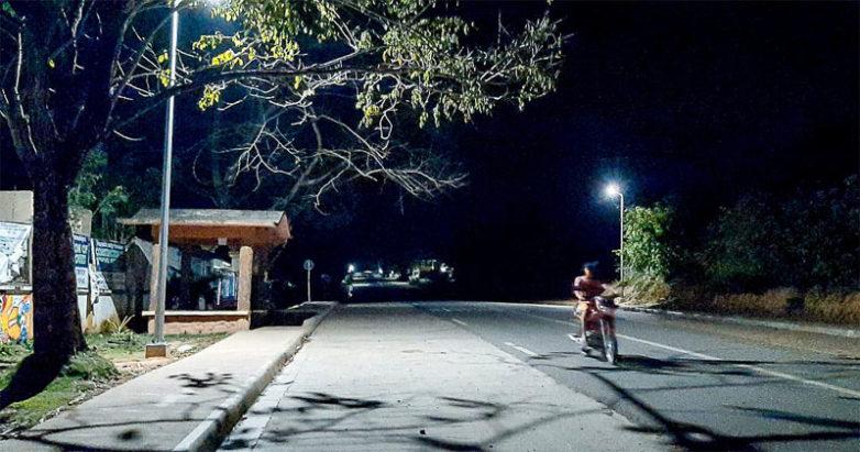 Solar Streetlights brightens Concepcion, Iloilo.