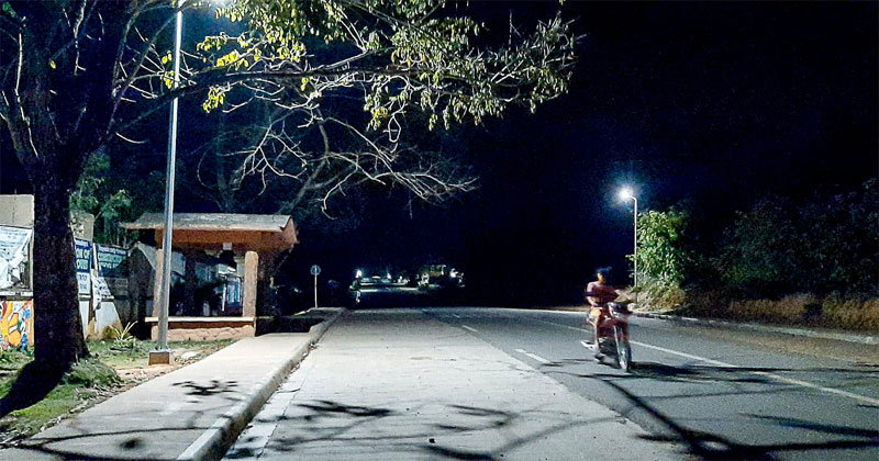 Solar Streetlights brightens Concepcion, Iloilo.