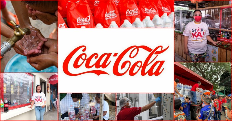 Coca-cola CSR collage