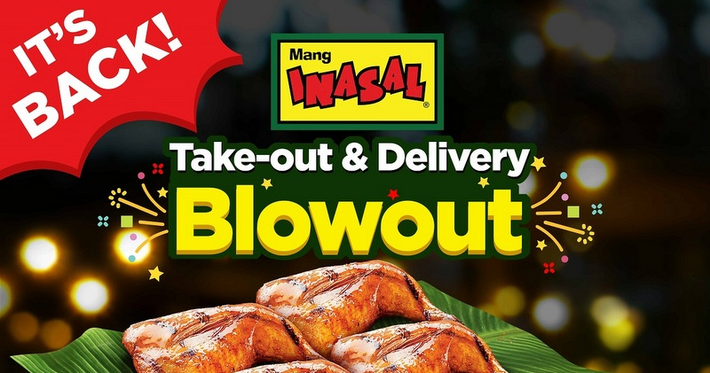 Mang Inasal's Take-out and Delivery Blowout deal returns for another run from December 18 to 28, 2020!