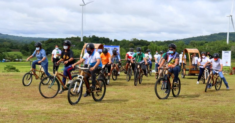 Bambikes for Green Spark Project in Guimaras.