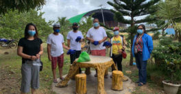 Palm Concepcion Power Corporation donates reusable masks for local community