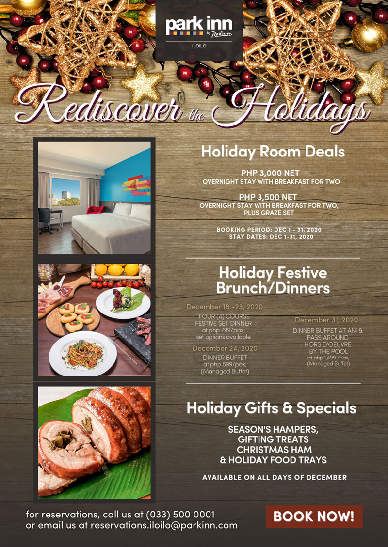 Rediscover holidays at Park Inn Iloilo.