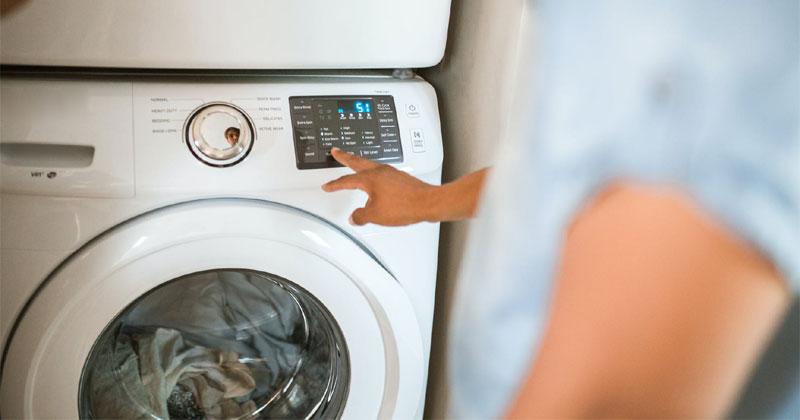 New washing machine features